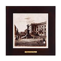 """Картина Одесса 1794 """"Памятник Дюку де Ришелье"""" (28x28) см Код:67997535"""