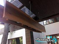 Декоративный подвесной светильник D-4. Креативный светильник. LED светильник. Светильник из дерева., фото 1