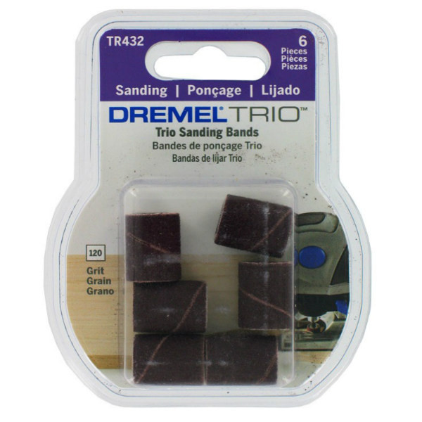 Шлифлента зерно 120 для trio Dremel