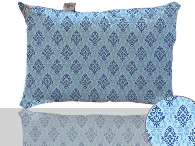 Подушка силиконовая 50х70 (синяя)