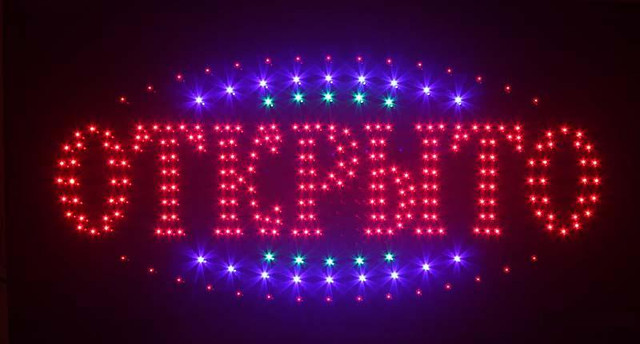 Вывески светодиодные