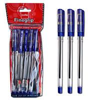Ручка шариковая Finegrip синяя 5шт/уп Cello