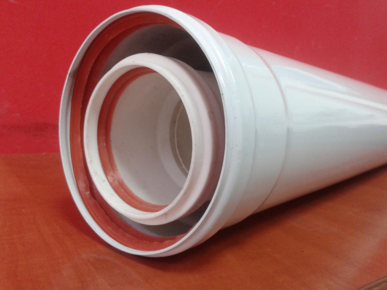 Удлинитель 1м (1000мм) 80/125 конденсационный