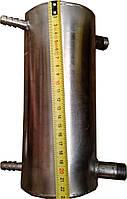 """ДИСТИЛЯТОР НЕРЖАВЕЮЩИЙ Ф-100мм,стенка 1,5мм .Выходы дистилированной воды-12 мм.Выходы для подачи-1\2"""", фото 1"""