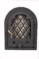 Чугунная каминная дверца - VVK 35x46см - 27x38см