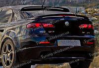 Спойлер на стекло Alfa Romeo 159 (спойлер заднего стекла Альфа Ромео 159)