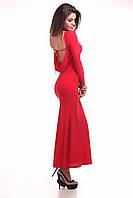 Платье 306 (КАР) голая спина