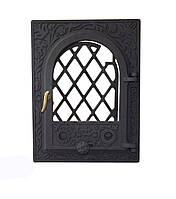 Чугунная каминная дверца - VVK 35x46 см - 27x38см