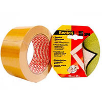 Клейкая лента 3М 9191, белая, 50мм х 25м х 0,26мм, на полиэфирной основе, 60 °С для фиксации ковровых покрытий