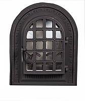 Чугунная каминная дверца - VVK 36x43 см - 28x39см