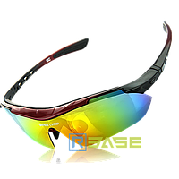Велосипедные очки BaseCamp BC-102C Red