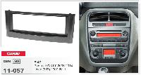 1-DIN переходная рамка FIAT Punto (199/310) 2005-2014, Linea (323) 2007-2011, CARAV 11-057
