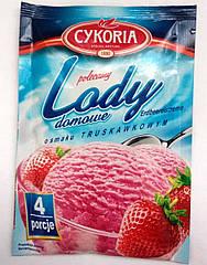 Сухое мороженое с клубничным вкусом Cykoria 60 гр Польша