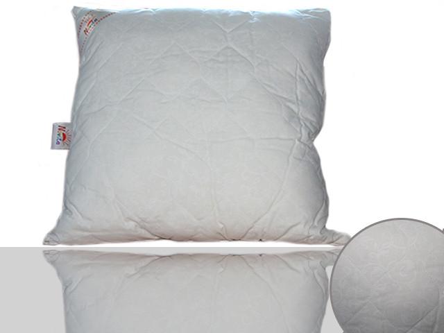 Подушка силиконовая 60х60 (кремовая)
