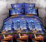 Двуспальный набор постельного белья 180*220 из Ранфорса №182 Черешенка™
