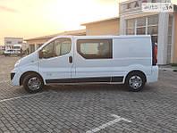 Автоскло боковое передний салон Renault Trafic