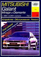 Mitsubishi Galant Руководство по эксплуатации, обслуживанию и ремонту автомобиля