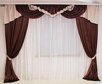 Красивые шторы для гостинной