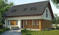 Строительство коттеджей, строительство домов из газобетона, загородный дом, недорогие дома, коттедж