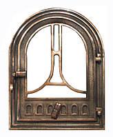 Чугунная каминная дверца - VVK 36x46 см - 30x39см