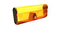 Футляр для очков силиконовый оранжевый
