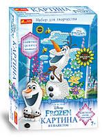 "4748-15 Картинка из пайеток Frozen ""Олаф Лето"""