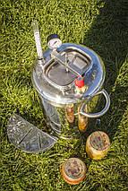 """Автоклав """"ЛЮКС - 28"""" з нержавіючої сталі для домашнього консервування ., фото 2"""