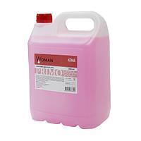 Жидкое мыло PRIMO Woman 5л с ароматом цветков ванили и фруктовых тонов киви и миндаля