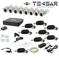 Комплекты видеонаблюдния AHD Tecsar
