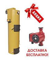 Котел твердотопливный сверх длительного горения Stropuva S40i мощностью 20 кВт (IDEAL)
