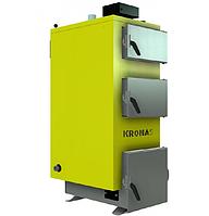 Твердотопливный котел  КRONAS UNIC-NEW 35 квт площадь обогрева помещения до 350 м2