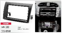 2-DIN переходная рамка FIAT Bravo (198) 2006-2016, CARAV 11-058