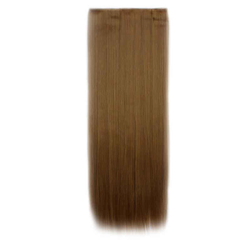 Штучні волосся на заколках. Колір #27j Світлий рудий