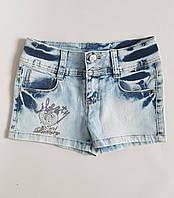 Модные джинсовые шорты для девочек