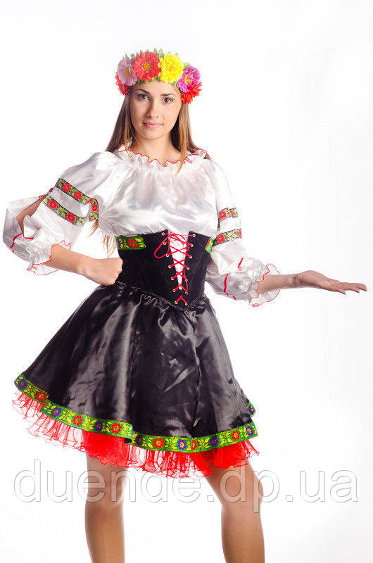 Українка Мирослава жіночий маскарадний костюм / BL - ВЖ172