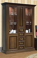 Витрина 3-х дверная Набукко (Скай ТМ)