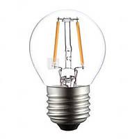 LED лампа LEDEX 2W, Е27, G45 шарик 4000К, FILAMENT (LB204)
