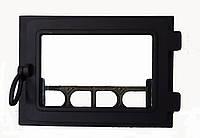 Чугунная каминная дверца  - VVK 36x25 см/31x21см