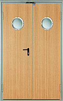 Дверь двустворчатая противопожарная декоративная EI260 C5