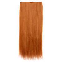 Искусственные волосы на заколках. Цвет #30j Натуральный рыжий, фото 1