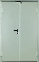 Противопожарные двери EI2-60 C5 ST 2L 1280*2080 RAL 7035