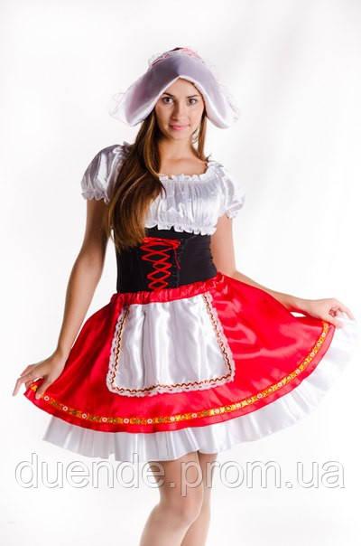 Червона Шапочка класичний жіночий карнавальний костюм / BL - ВЖ163