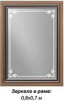 Зеркало в раме С-2 (ТМ Скай)