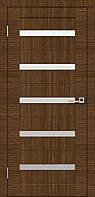 Межкомнатные двери Омис Cortex - Модель 07 - Дуб Amber (сатин)