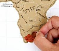 Scratch map: настенная Scratch карта мира в подарочном тубусе (Рус. язык)