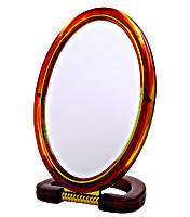 Зеркало настольное овальное (d 16х21 см)