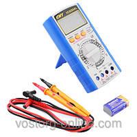 Тестер мультиметр 9205 AL VC,+тестирование диодов/ транзисторов/ защита от неправильного включения