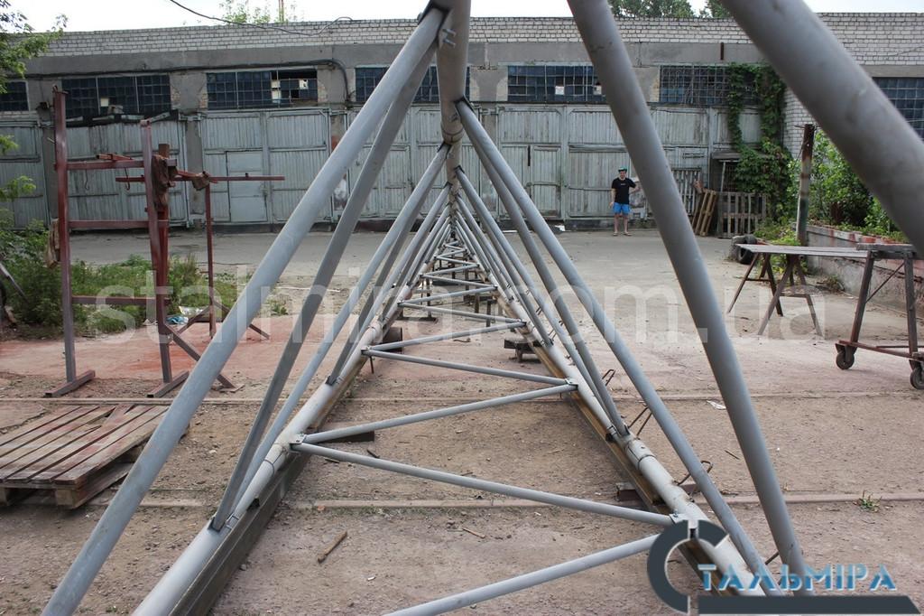 Вышка ветрогенератора: проектирование и изготовление! 2