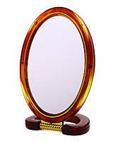 Зеркало настольное овальное (d 13х18 см)