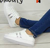 Спортивная женская обувь, кроссовки белого цвета 39